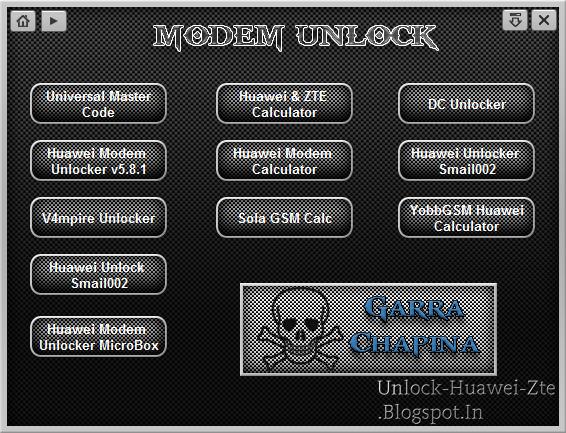 Offline Huawei Unlock Code Calculator / Generator Tools for